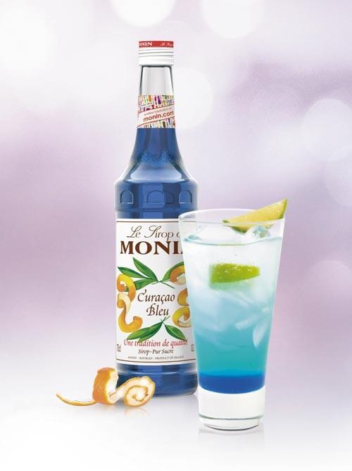 Monin Sirope Curacao Blue