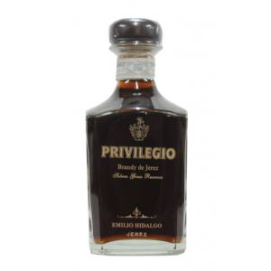 Brandy Emilio Hidalgo Privilegio Gran Reserva